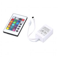 new-RGB-16-Colors-Remote-Control-Box-DC-12V-for-LED-Light-Strip-security-safety-free